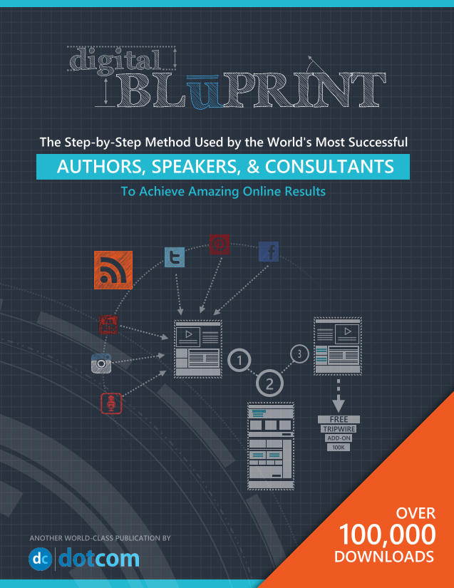The Digital BluPrint Book Cover